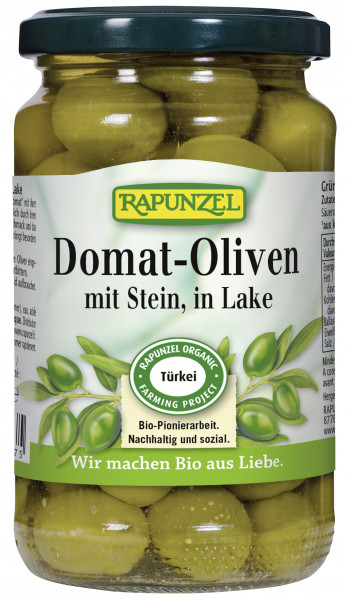 Oliven Domat grün, mit Stein in Lake