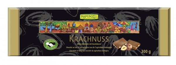 Krachnuss Milchschokolade mit Haselnüssen 300g