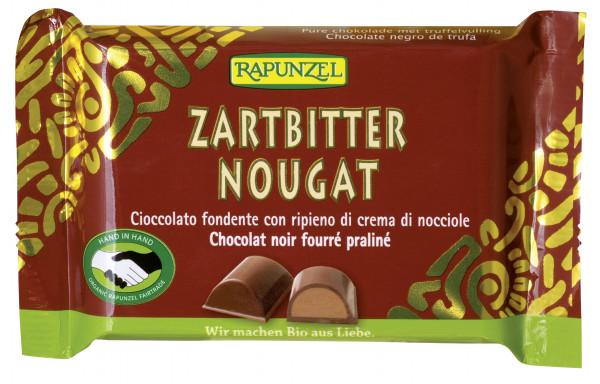 Zartbitter Nougat Schokolade