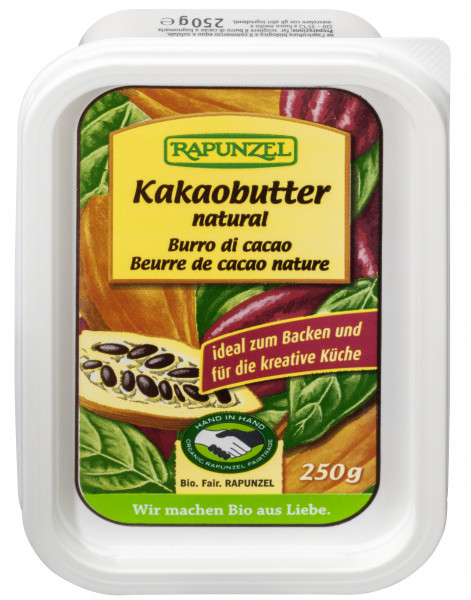 Kakaobutter natural