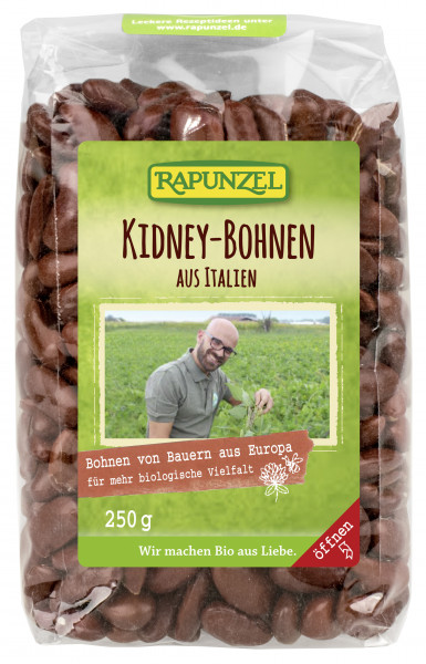 Kidney Bohnen rot aus Italien