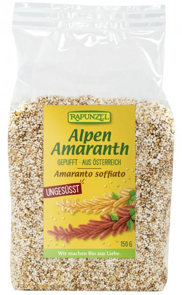 Alpen-Amaranth gepufft