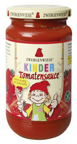 Kinder Tomatensauce