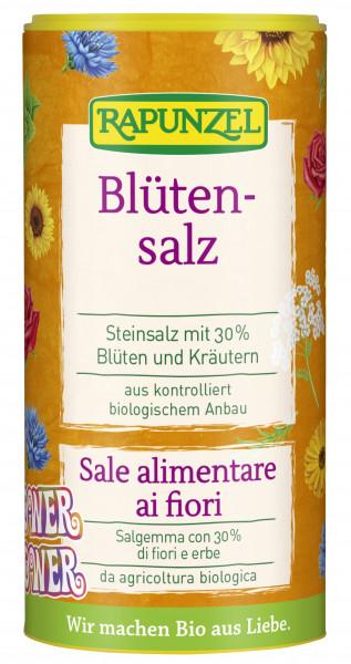 Blütensalz 'Flower Power', Steinsalz mit 30% Blüten und Kräutern
