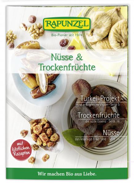 Infobroschüre Nüsse und Trockenfrüchte