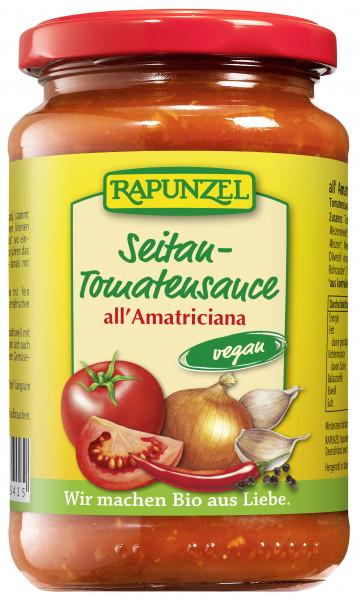 Seitan Tomatensauce all`Amatriciana