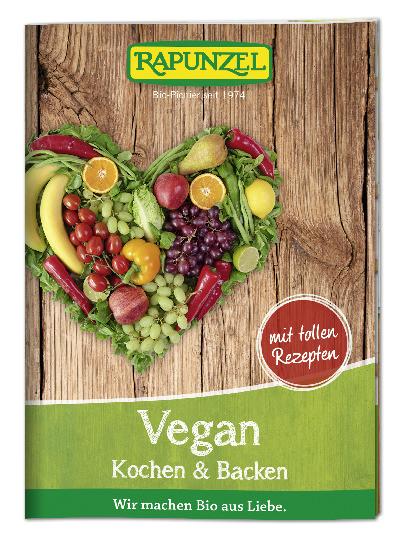 Infobroschüre Vegan Kochen und Backen