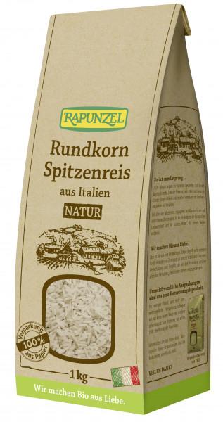 Rundkorn Spitzenreis natur / Vollkorn