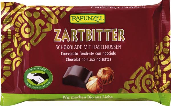 Zartbitter Schokolade 60% mit ganzen Nüssen