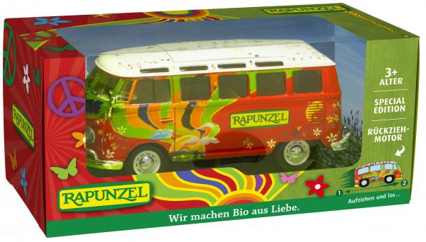 Aufzieh-Spielzeugbus klein