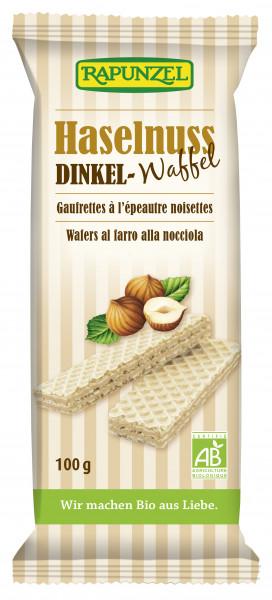 Dinkel-Waffeln Haselnuss