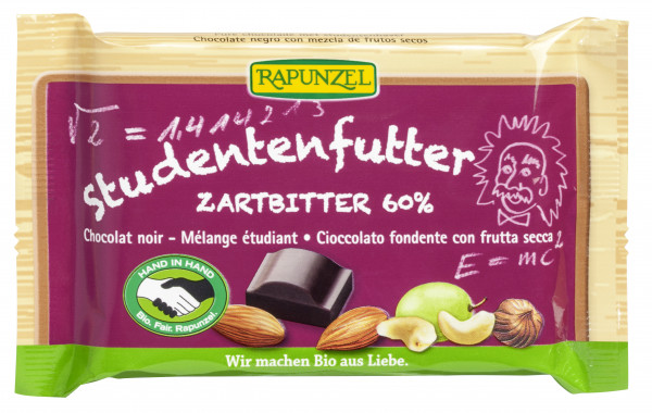 Studentenfutter Zartbitter Schokolade