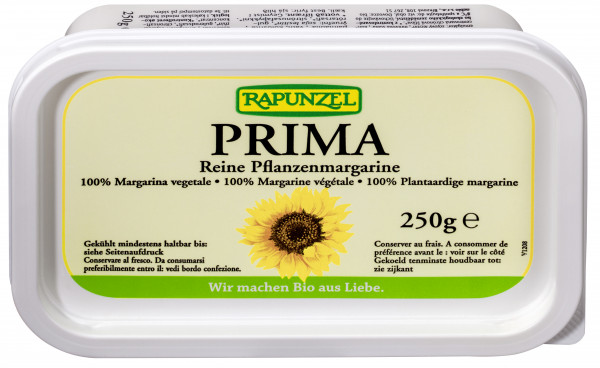 Pflanzenmargarine Prima