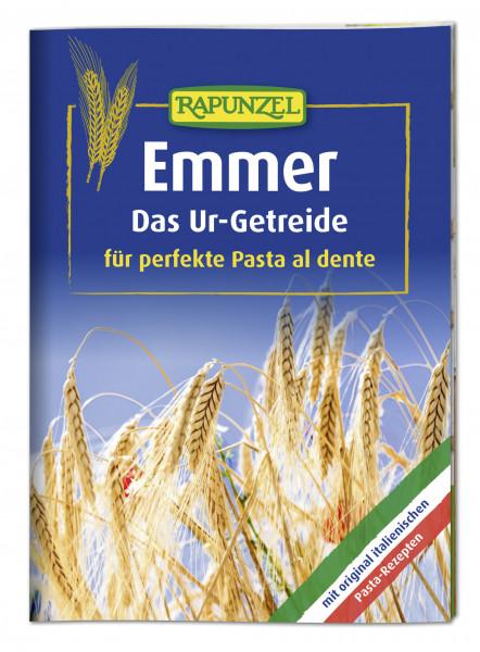 Infobroschüre Emmer: Das Ur-Getreide für perfekte Pasta al dente