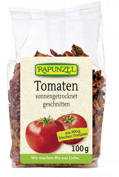 Tomaten getrocknet, geschnitten in Würfel