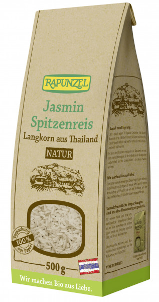 Jasmin Spitzenreis Langkorn natur / Vollkorn