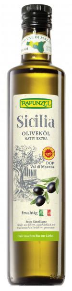 Olivenöl Sicilia DOP, nativ extra
