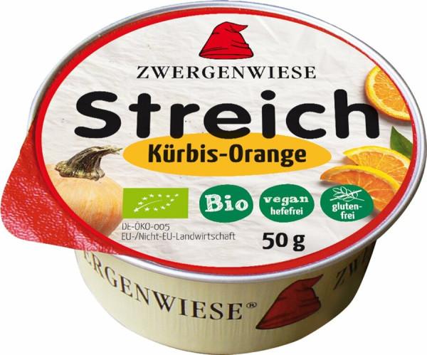 Kleiner Streich Kürbis-Orange