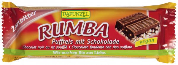 Rumba Puffreisriegel Zartbitter