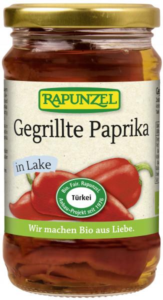 Paprika gegrillt rot, in Lake