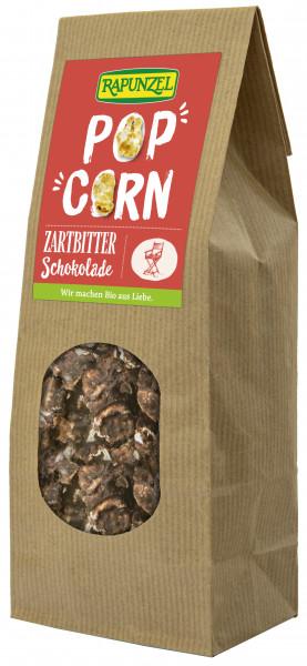Popcorn mit Zartbitterschokolade