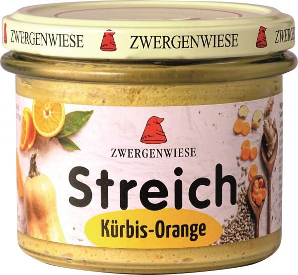 Kürbis Orange Streich