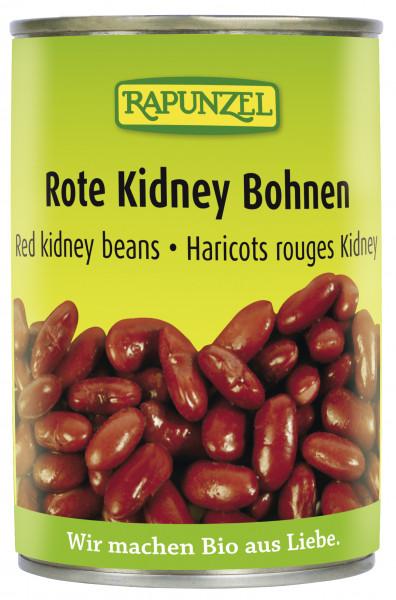 Rote Kidney Bohnen in der Dose