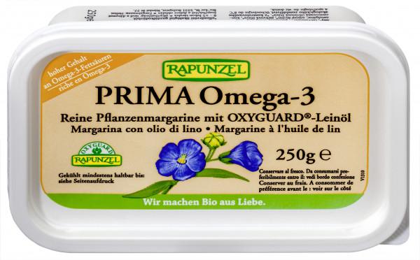 Pflanzenmargarine Prima Omega-3 mit Leinöl