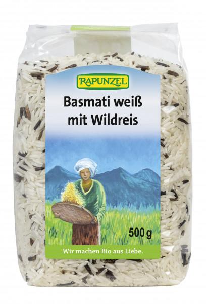Basmati weiß mit Wildreis