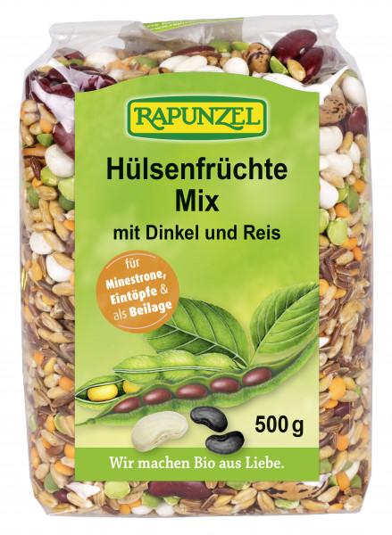 Hülsenfrüchte Mix mit Dinkel und Reis