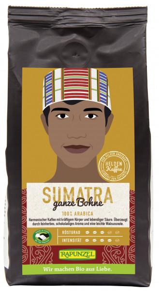 Heldenkaffee Sumatra, ganze Bohne