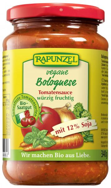 Tomatensauce Bolognese, vegan, mit Soja