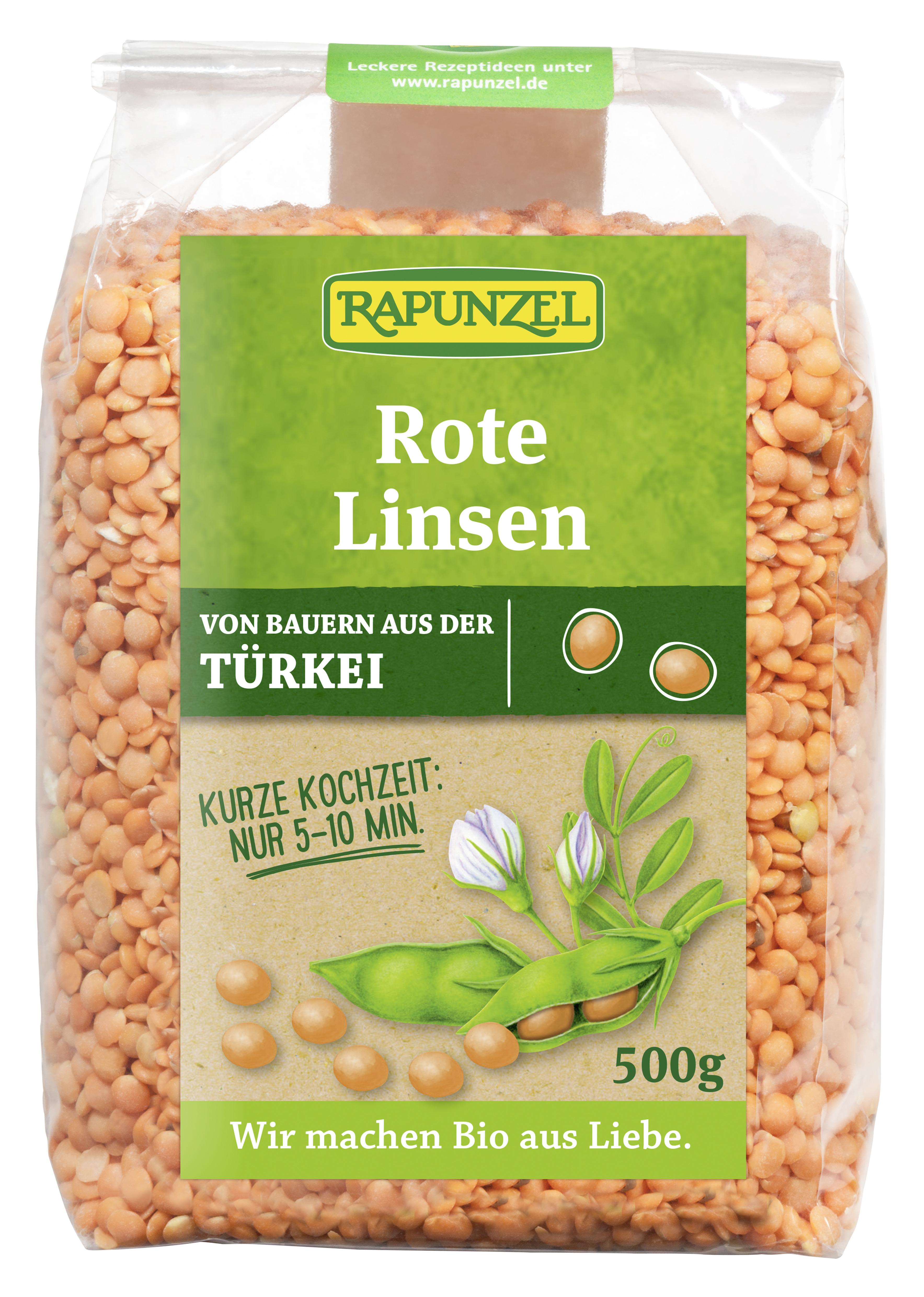 Linsen rot | Linsen | Hülsenfrüchte | Produkte | Rapunzel Onlineshop