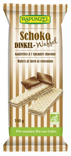 Dinkel-Waffeln Schoko