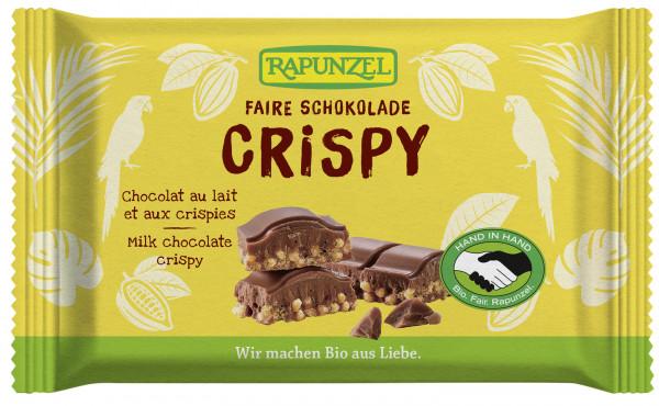 Vollmilch Schokolade Crispy