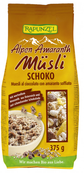 Alpen-Amaranth Müsli Schoko