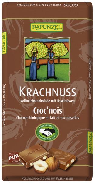 Krachnuss Vollmilch Schokolade Haselnuss