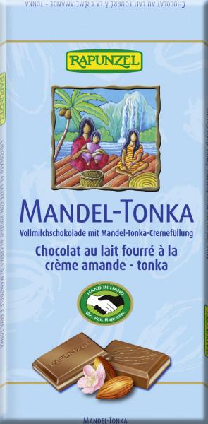 Vollmilch Schokolade Mandel-Tonka