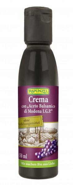 Crema con 'Aceto Balsamico di Modena IGP'