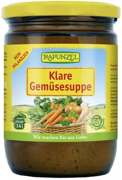 Klare Suppe, mit Bio-Hefe