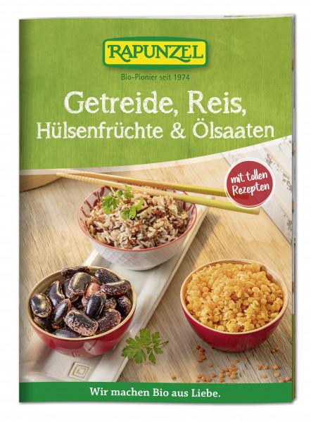 Infobroschüre Getreide, Reis, Hülsenfrüchte und Ölsaaten