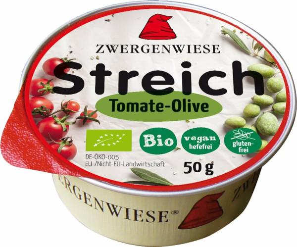 Kleiner Streich Tomate-Olive