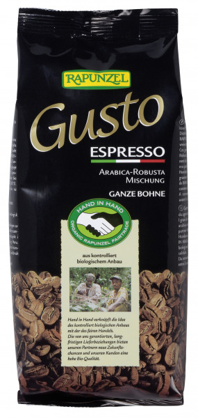 Gusto Espresso all´italiana ganze Bohne