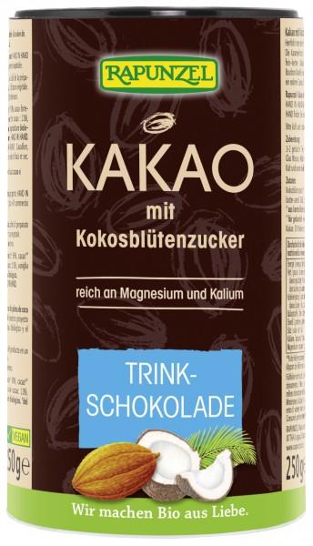 Kakao mit Kokosblütenzucker