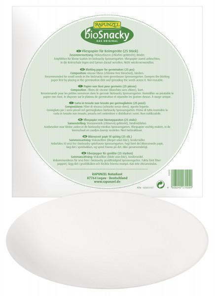 Vliespapier für Sprossengarten bioSnacky