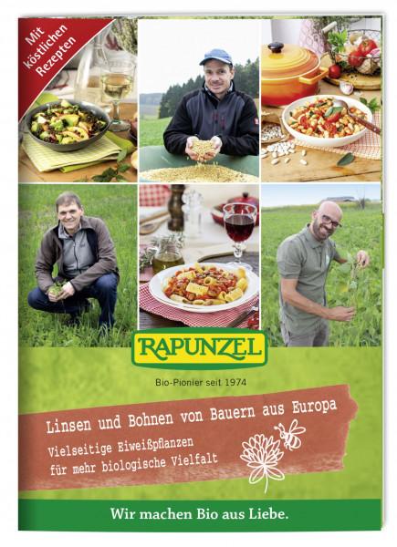 Infobroschüre Linsen und Bohnen von Bauern aus Europa