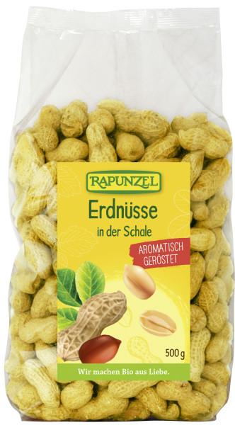 Erdnüsse in der Schale geröstet
