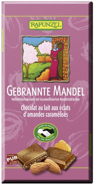 Vollmilch Schokolade Honig-Mandel-Krokant