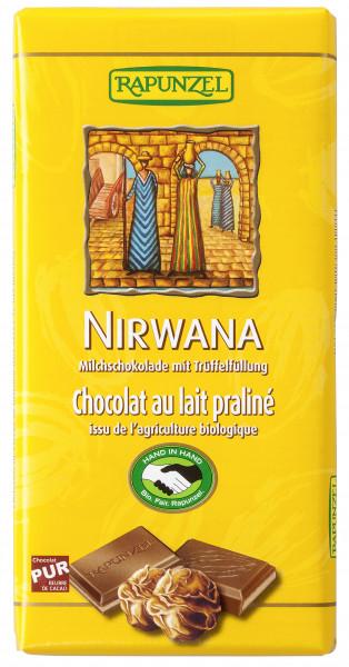Nirwana Milchschokolade mit Praliné-Füllung