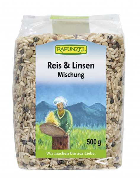Reis & Linsen Mischung